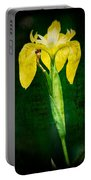 Vintage Canna Lily Portable Battery Charger