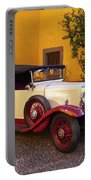 Vintage Car In Funchal, Madeira Portable Battery Charger