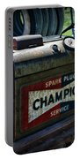 Vintage Champion Spark Plug Cleaner Portable Battery Charger