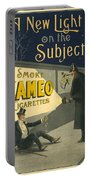 Vintage Cigarette Ad 1900 Portable Battery Charger