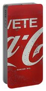 Vintage Coca Cola Sign Portable Battery Charger
