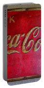 Vintage Coca-cola Sign Portable Battery Charger