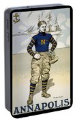 Vintage College Football Annapolis Portable Battery Charger