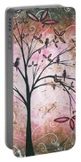 Vintage Couture By Madart Portable Battery Charger