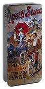 Vintage Cycle Poster Prinetti Stucchi Unica Grande Fabbrica Italiana Milano Portable Battery Charger