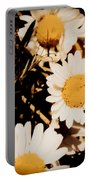 Vintage Daisies Portable Battery Charger