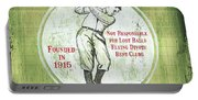 Vintage Golf Green 2 Portable Battery Charger