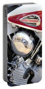 Vintage Harley V Twin Portable Battery Charger by David Lee Thompson