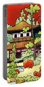 Vintage Japanese Art 7 Portable Battery Charger
