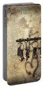 Vintage Keys Portable Battery Charger