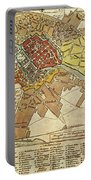 Vintage Map Of Berlin Germany - 1789 Portable Battery Charger