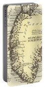 Vintage Map Of Greenland - 1791 Portable Battery Charger