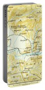 Vintage Map Of Olympia Greece - 1894 Portable Battery Charger