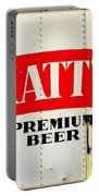 Vintage Matt's Premium Beer Sign Portable Battery Charger