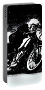 Vintage Motorcycle Racer Portable Battery Charger