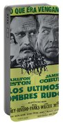 Vintage Movie Poster 6 Portable Battery Charger