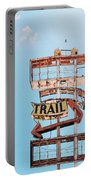 Vintage Neon Sign - The Spanish Trail - Tucson, Arizona Portable Battery Charger