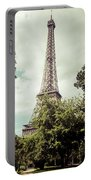 Vintage Paris Landscape Portable Battery Charger