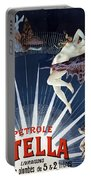 Vintage Petrole Stella Poster Portable Battery Charger