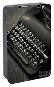 Vintage Portable Typewriter Portable Battery Charger