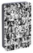 Vintage Portrait Photos Depict Womens Hairstyles Of The 1930s  - Doc Braham - All Rights Reserved. Portable Battery Charger