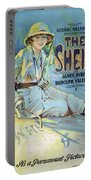 Vintage Poster - The Sheik Portable Battery Charger