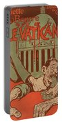 Vintage Poster - Vatican Galantara Portable Battery Charger