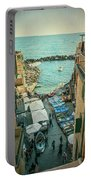 Vintage Riomaggiore Cinque Terre Italy Portable Battery Charger