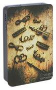 Vintage Romance Portable Battery Charger