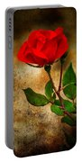 Vintage Rose Portable Battery Charger