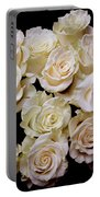 Vintage Roses Bouquet Portable Battery Charger