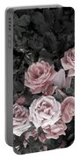 Vintage Roses In Pink 2  Portable Battery Charger