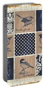 Vintage Songbird Patch 2 Portable Battery Charger