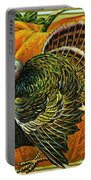 Vintage Thanksgiving Card Portable Battery Charger