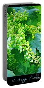 Vintage Vines  Portable Battery Charger
