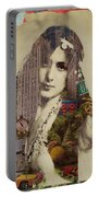 Vintage Woman Built By New York City 1 Portable Battery Charger
