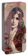 Vintage Woman Built By New York City 2 Portable Battery Charger