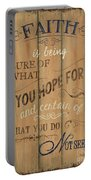 Vintage Wtlb Faith Portable Battery Charger