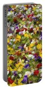 Viola Tricolor Portable Battery Charger