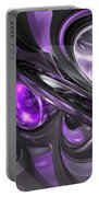 Violaceous Abstract  Portable Battery Charger