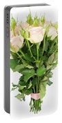 Garden Roses Bouquet Portable Battery Charger