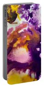 Violet Explosion  Portable Battery Charger