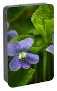 Violet In The Wild Portable Battery Charger