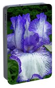 Violet Iris Portable Battery Charger