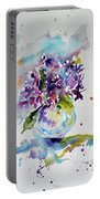 Violet Portable Battery Charger