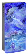 Violet Storm Portable Battery Charger