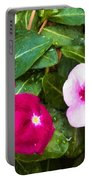 Violets Impression Portable Battery Charger
