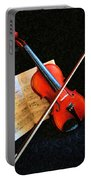 Violin Impression Portable Battery Charger
