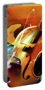 Violin Painting Art 51 Portable Battery Charger
