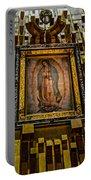 Virgen De Guadalupe 6 Portable Battery Charger